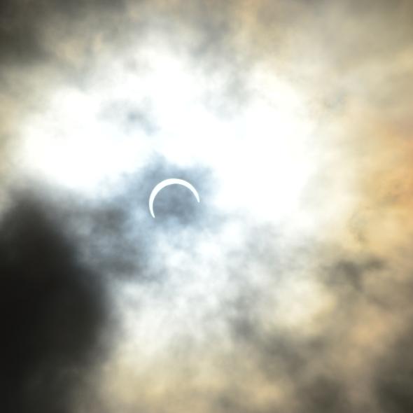 Solar eclipse, Antananarivo, Madagascar September 1, 2016