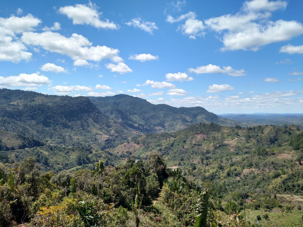 Looking over the valley outside Ranomafana National Park, Madagascar